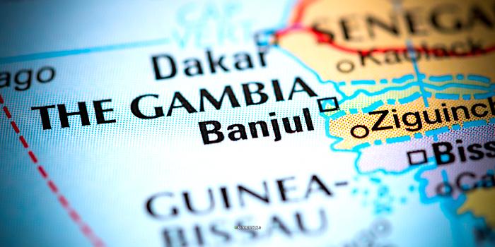 Banjul, mappa
