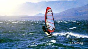 Bariloche, windsurf