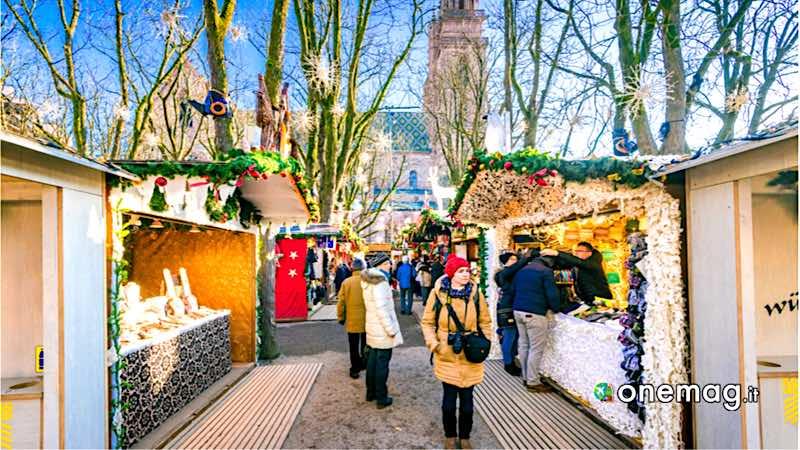 Basilea, mercatino di Natale