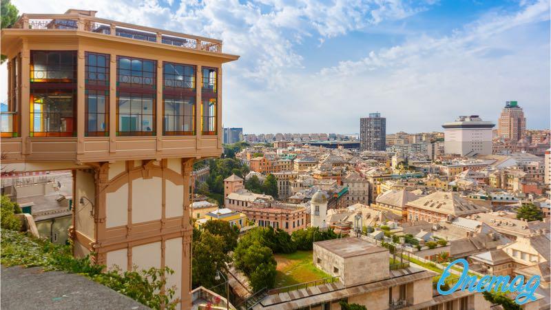 Visitare belvedere Spianata Castelletto a Genova