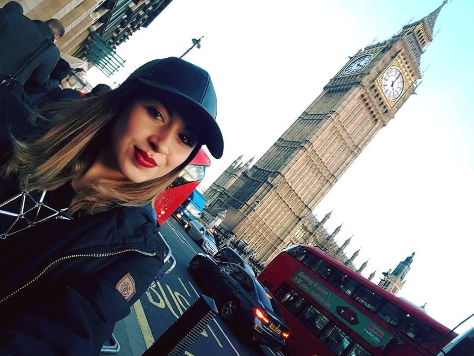 Andare a Londra per studiare, Sabrina a Londra