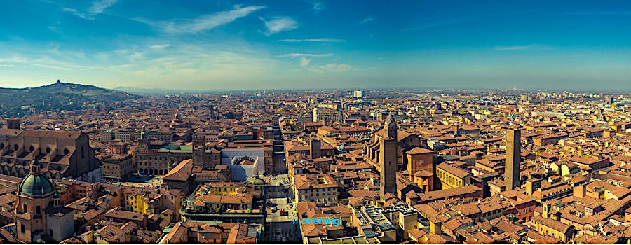 Cosa vedere a Bologna, mappa