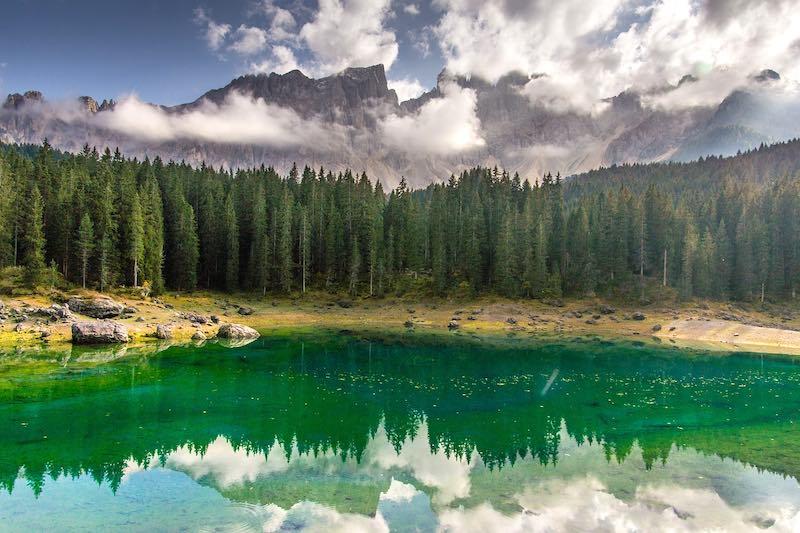 Cosa vedere a Bolzano, lago di Carezza