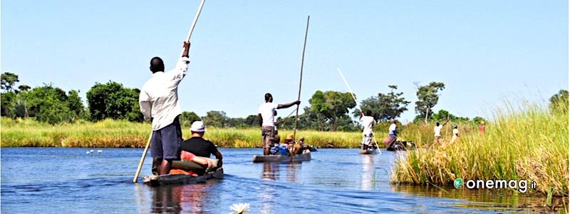 Botswana, fiume Okavango
