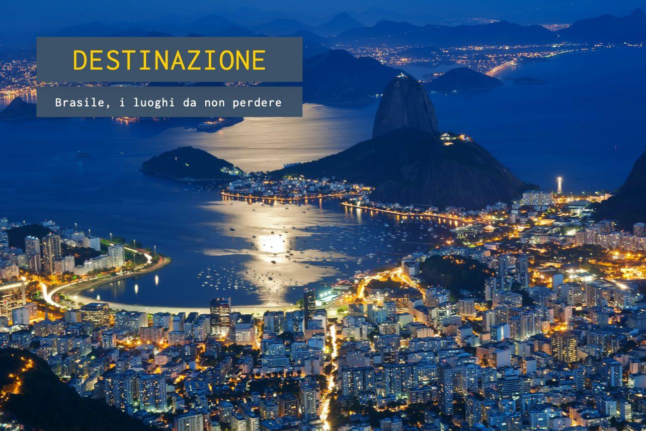 Brasile, i luoghi da non perdere