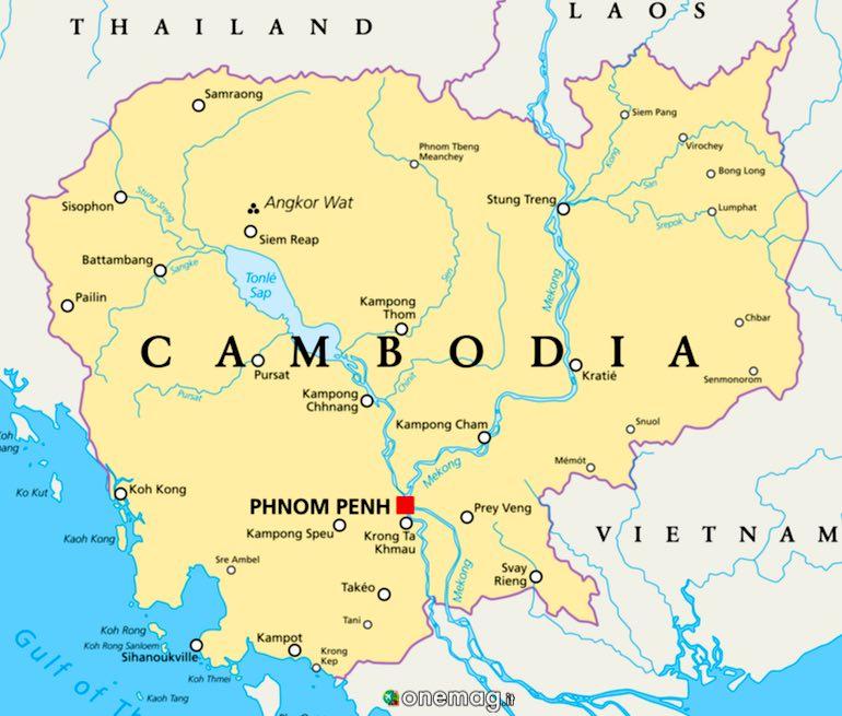 Cosa vedere in Cambogia