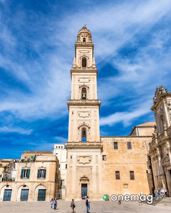 Turismo a Lecce: il campanile del Duomo di Lecce