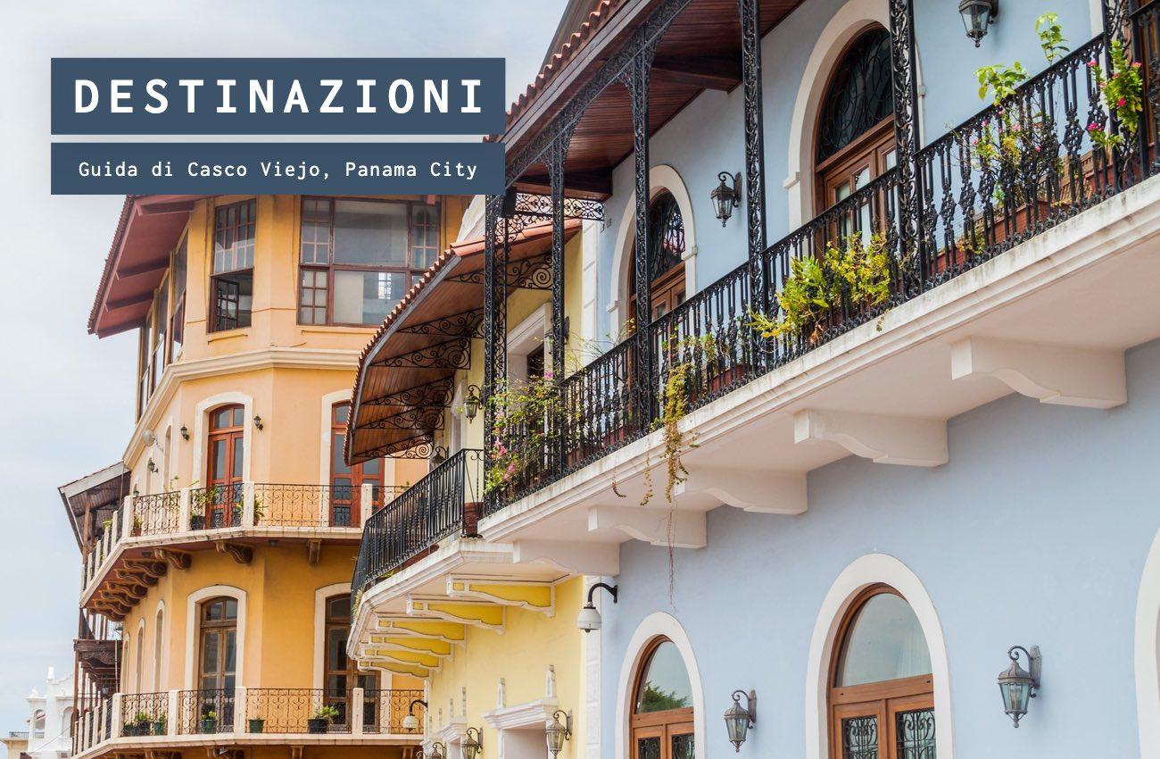 Guida di Casco Viejo, Panama City