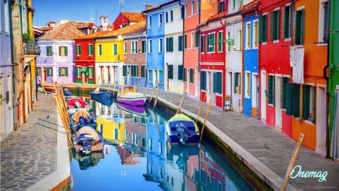 Le città più colorate in Europa, Burano