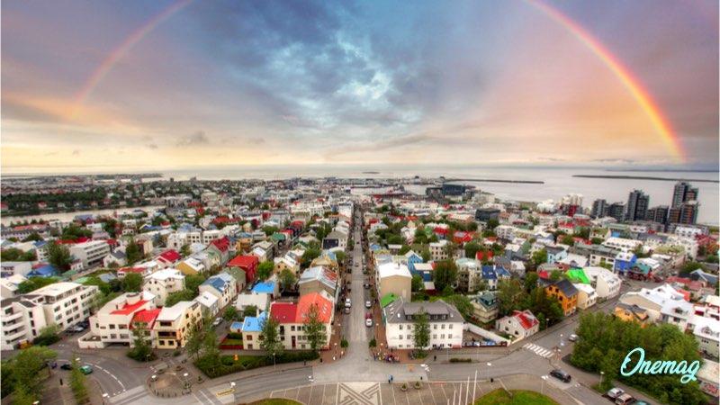 Città più colorate in Europa, Reykjavik, Islanda