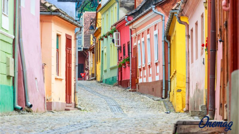 Città colorate in Europa, Sighișoara, Romania