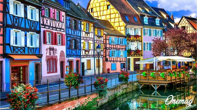 Le città più colorate in Europa, Colmar