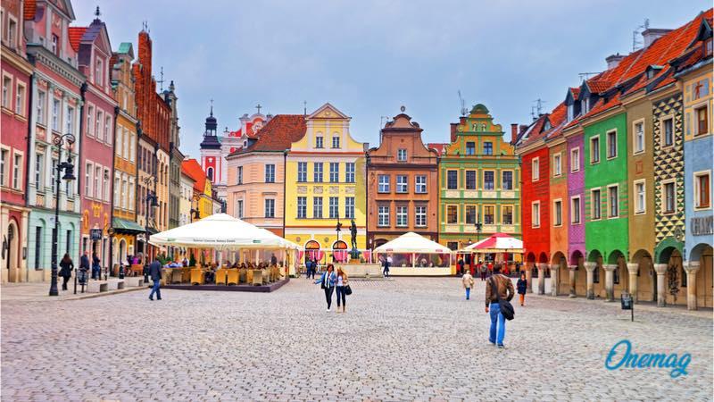 Le città più colorate in Europa, Poznan