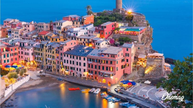 Città più colorate in Europa, Vernazza