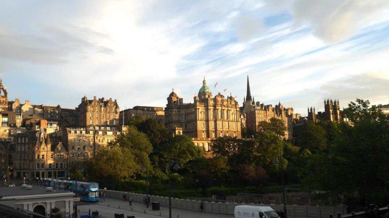 Edimburgo, veduta