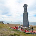 Le isole Falklands, memoriale