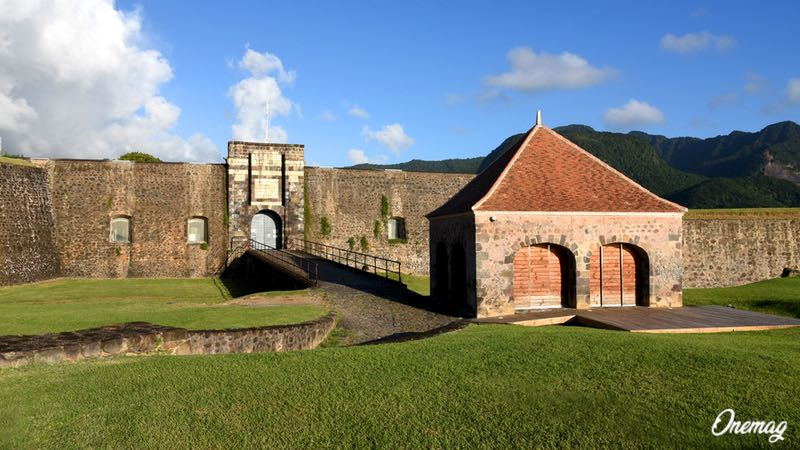 La fortezza Fort Delgrés a Basse-Terre