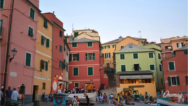 Turisimo a Genova, Boccadasse