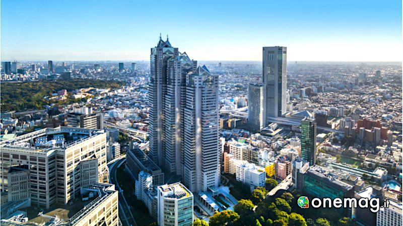 Cosa vedere in Giappone, l'architettura moderna di Tokyo