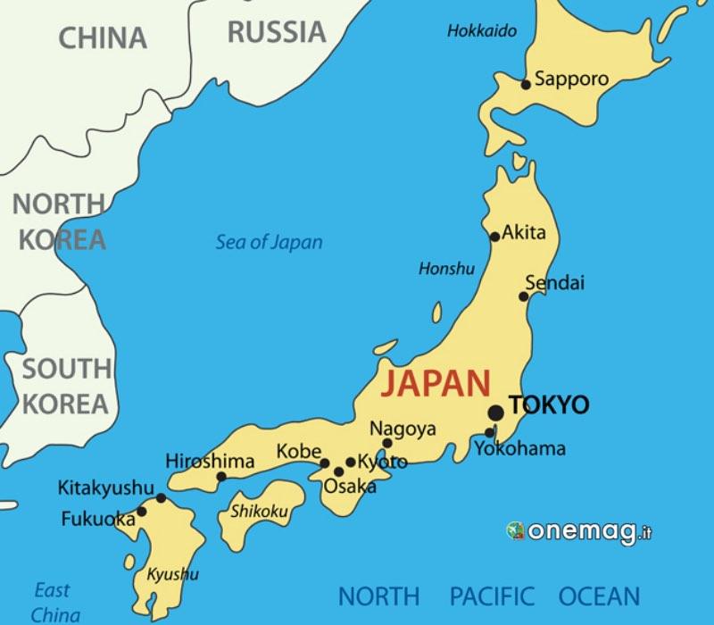 Le attrazioni del Giappone