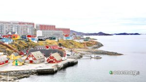 Groenlandia, la capitale Nuuk