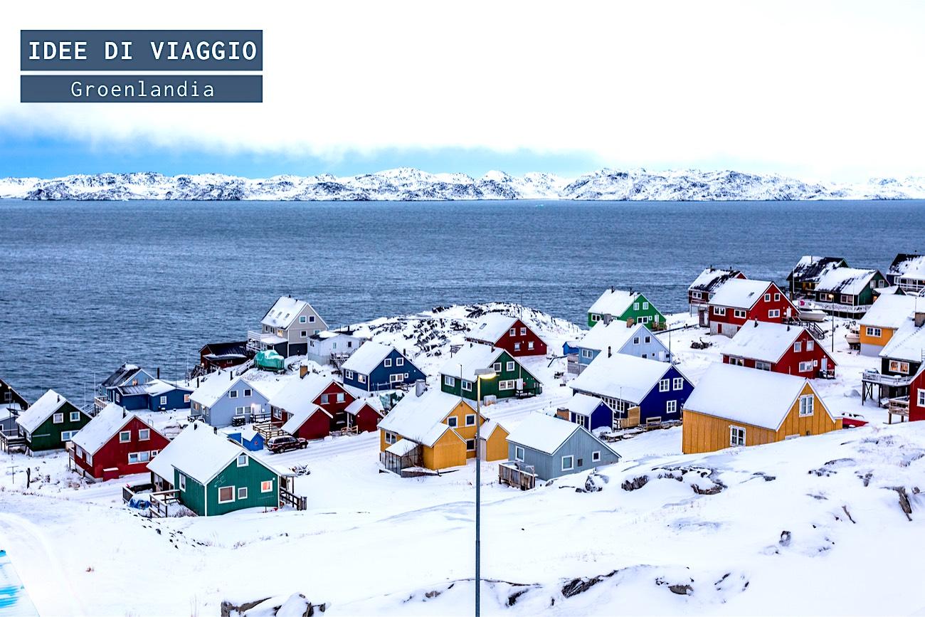 Il fascino della Groenlandia