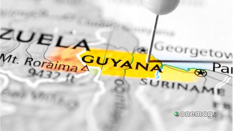 Guyana, mappa