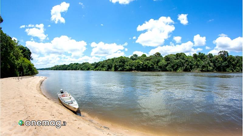Guyana, veduta del fiume