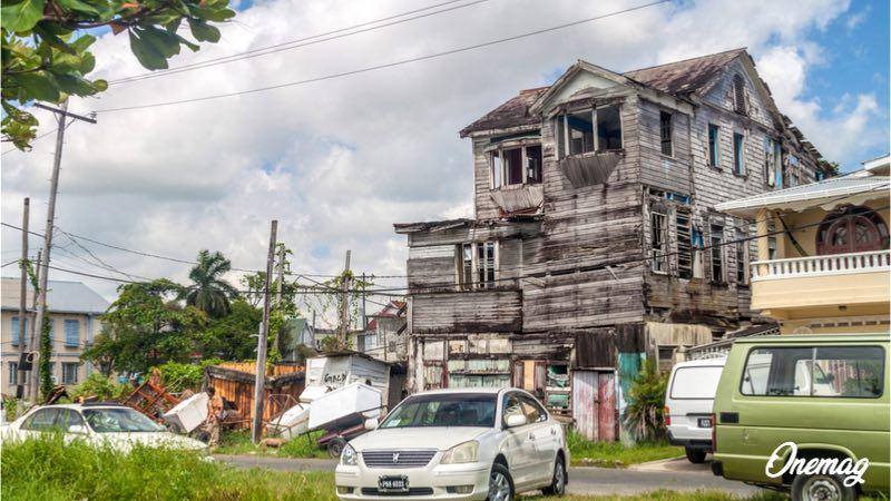 Viaggio a Linden, Guyana