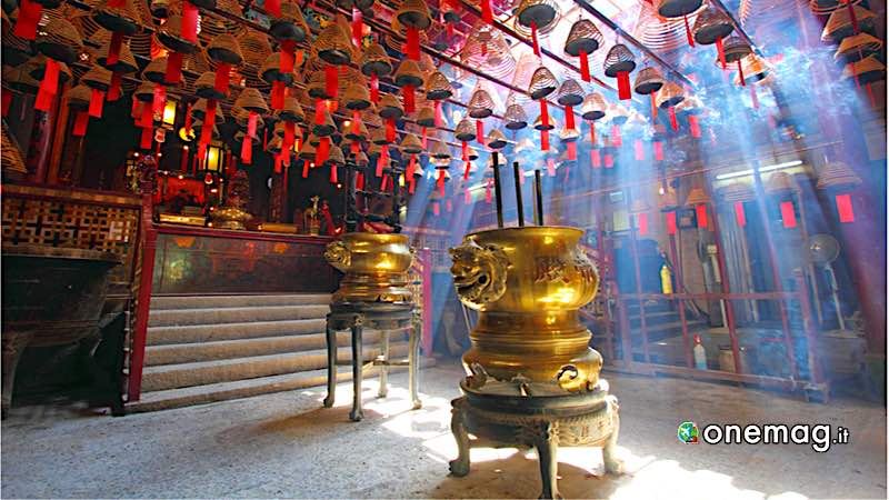 Cosa vedere a Hong Kong, Tempio di Man Mo