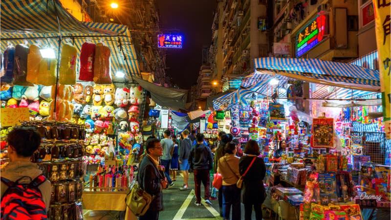 Hong Kong, Temple Street
