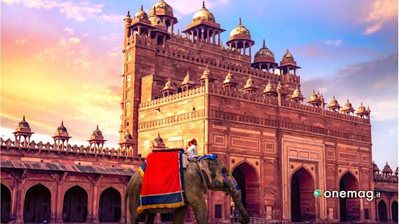 India. Buland Darwaza Fatehpur Sikri Agra