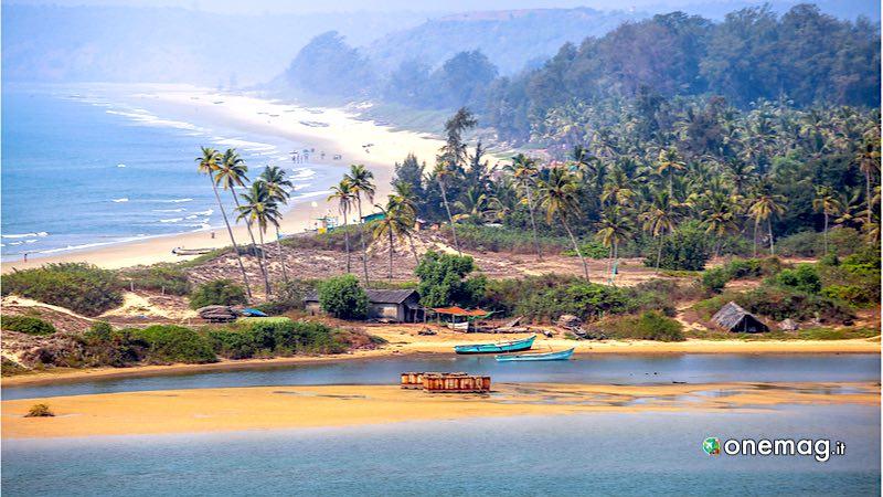 India, Goa spiaggia