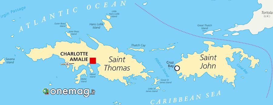Guida delle Virgin Islands
