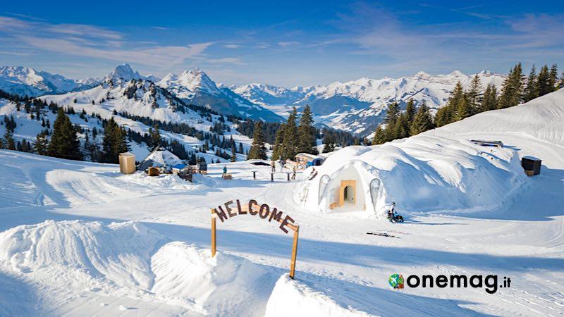 Il castello di neve di Kemi, Finlandia