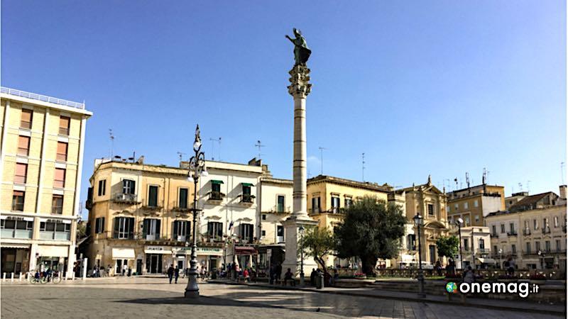 Lecce, la Colonna di Sant'Oronzo