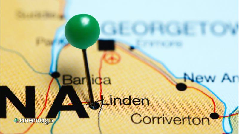 Linden, mappa