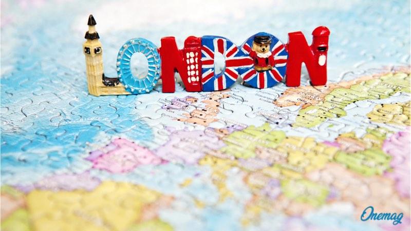 Andare a Londra per studiare, mappa