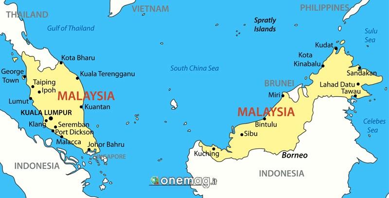 Cosa vedere in Malesia