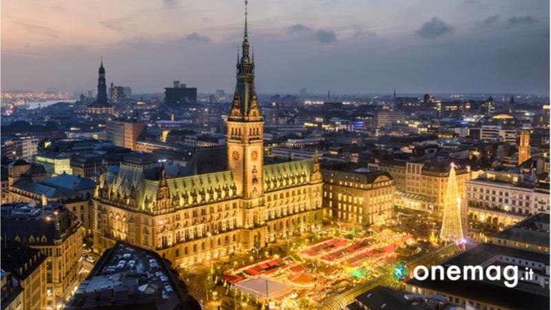 I mercatini di Natale in Germania, il mercatino di Natale ad Amburgo