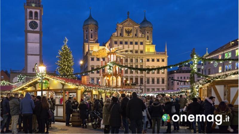 I mercatini di Natale in Germania il mercatino di Natale ad Augusta