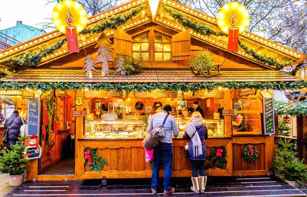 Il mercatino di Natale di Marienplatz