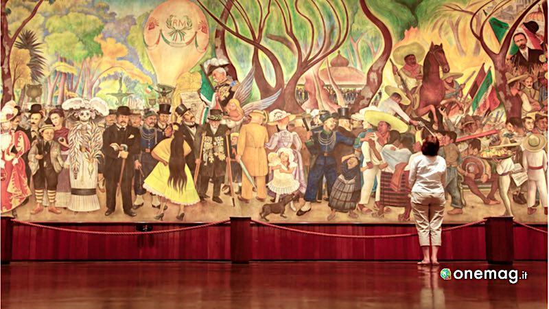 Messico, Museo Mural Diego Rivera