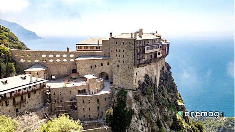 Monte Athos, veduta
