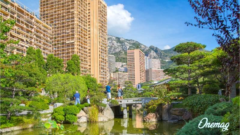 Guida al Principato di Monaco, il giardino giapponese