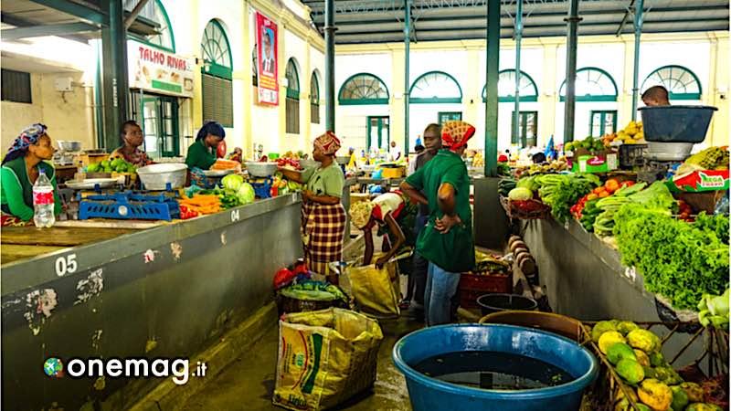 Mozambico, mercato alimentare