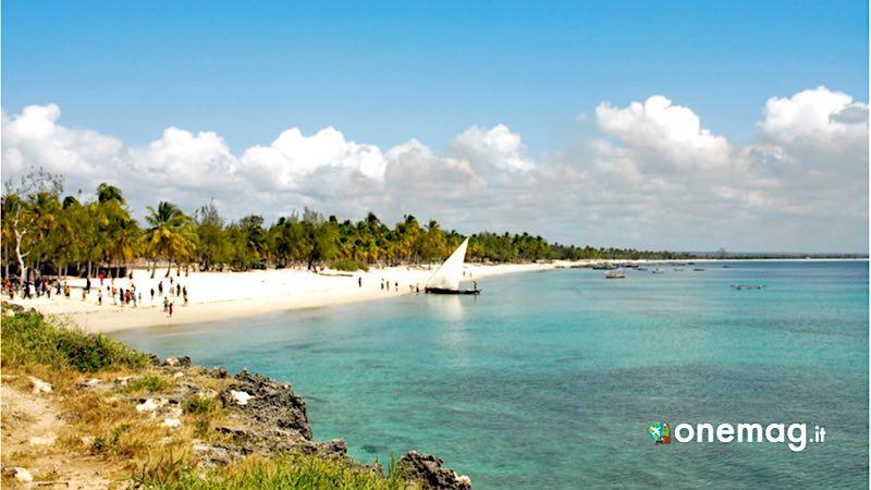Mozambico, spiaggia di Pangane