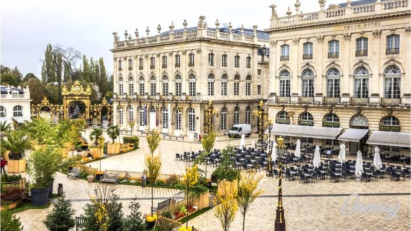 Weekend in Francia, Nancy