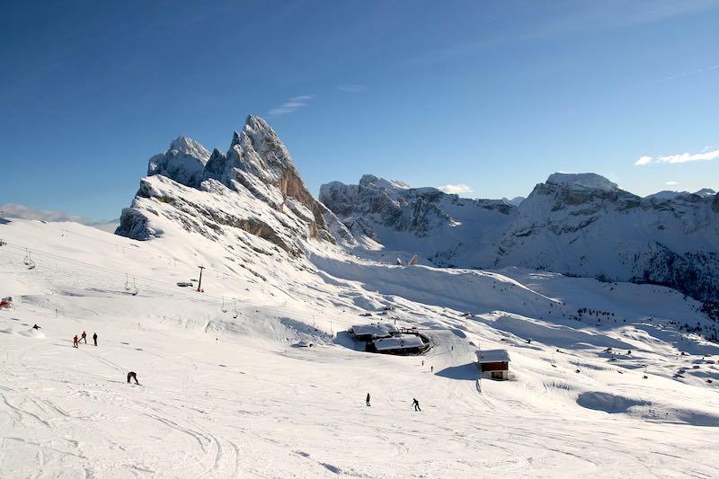 Ortisei, piste da sci