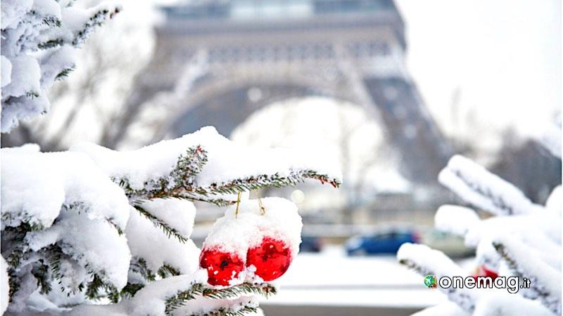 Capodanno a Parigi con la neve